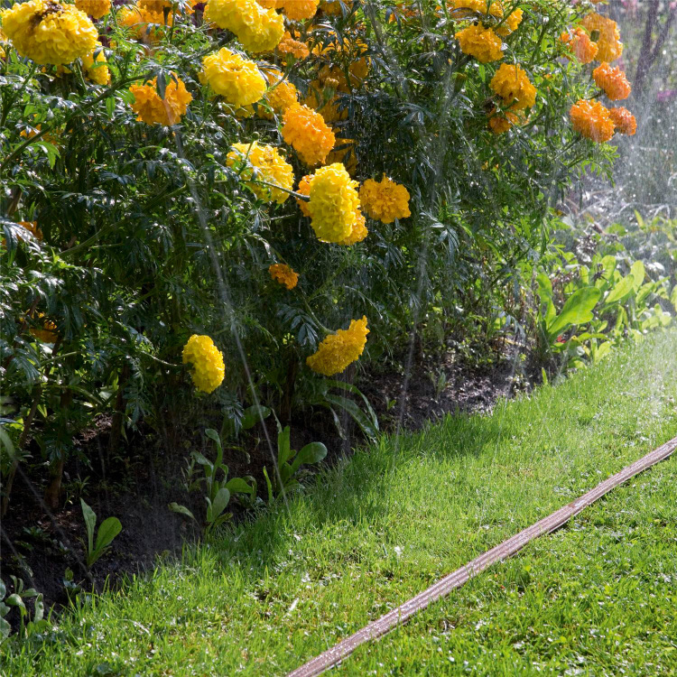 Gardena Sproeislang 15 meter bruin
