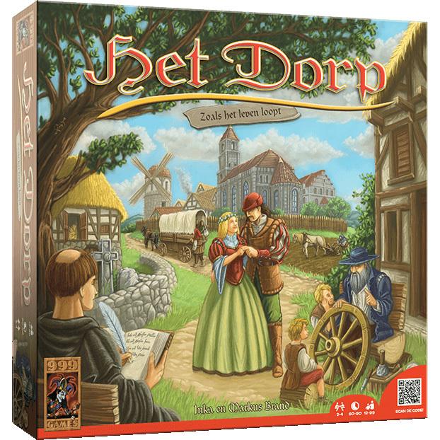 Het dorp is een spannend bordspel voor de echte liefhebbers.    elke familie probeert in het dorp roem te ...