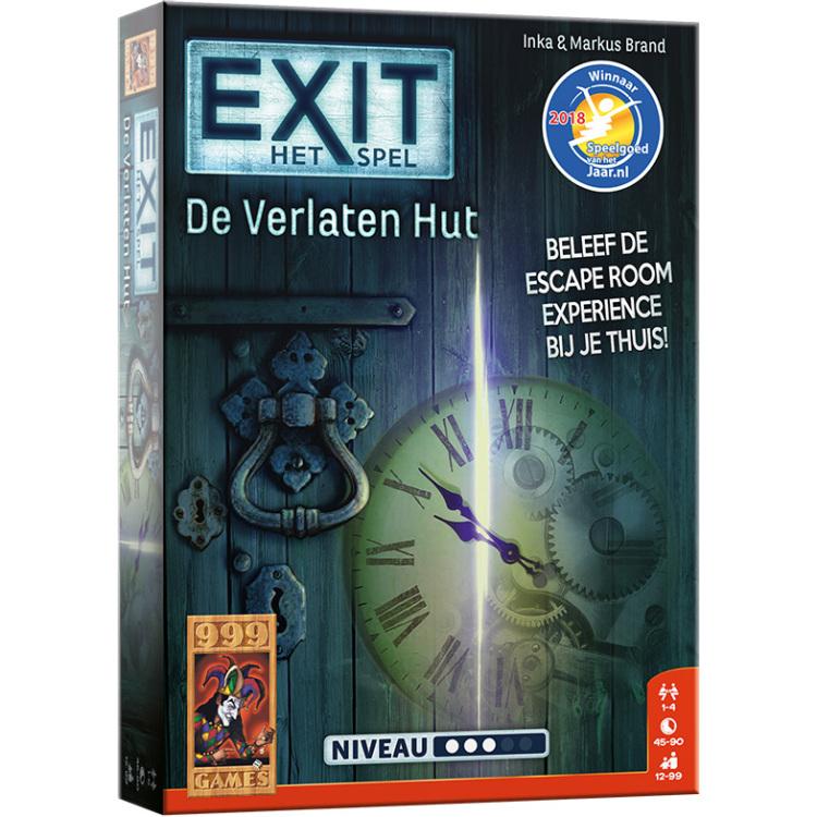 EXIT De Verlaten Hut Bordspel