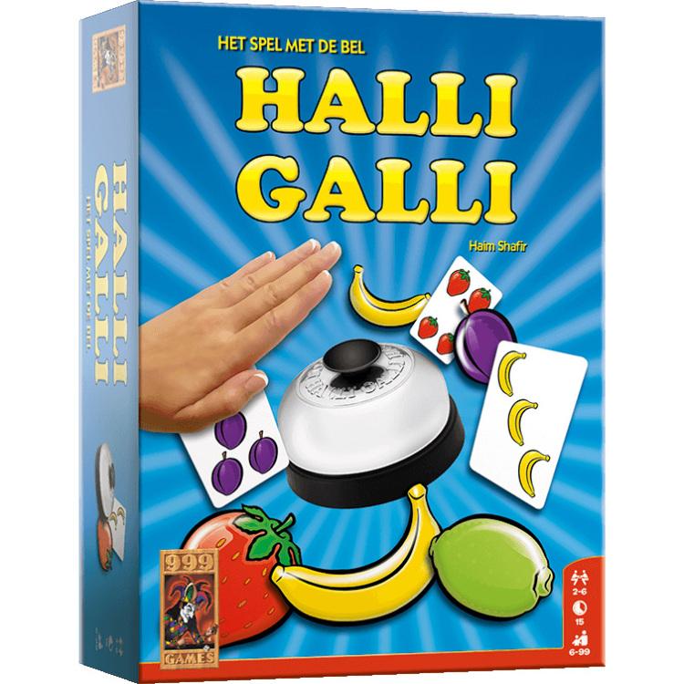 Halli Galli spel met de bel