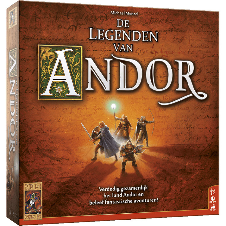 De Legenden Van Andor bordspel