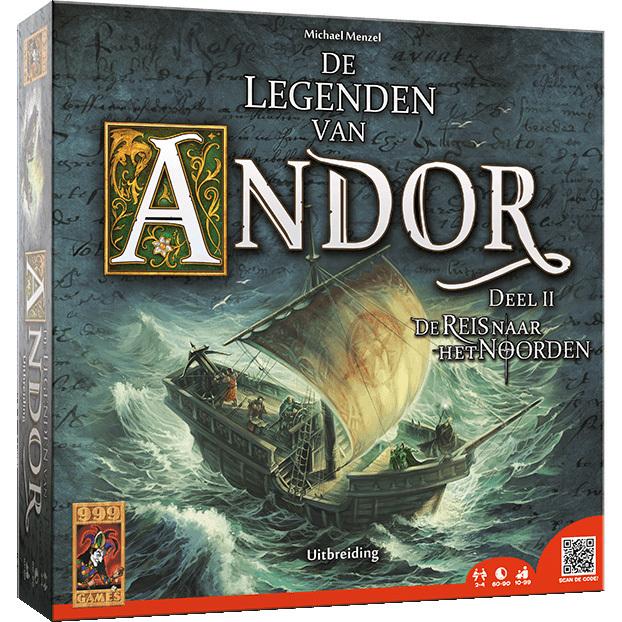 999 Games De Legenden van Andor: De Reis naar het Noorden uitbreiding