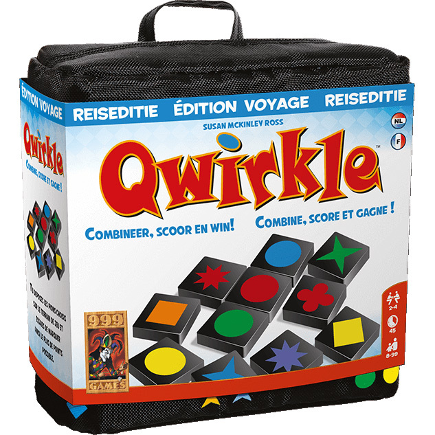 Qwirkle reiseditie 999 Games