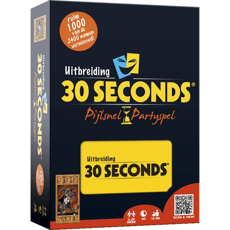 999 Games 30 Seconds Uitbreiding uitbreiding