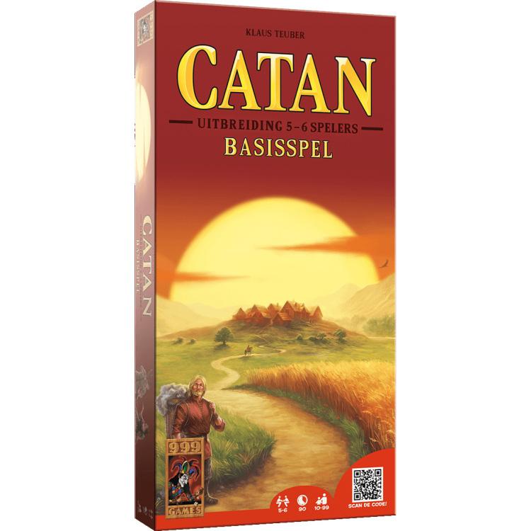 Kolonisten van Catan uitbreiding 5-6 spelers