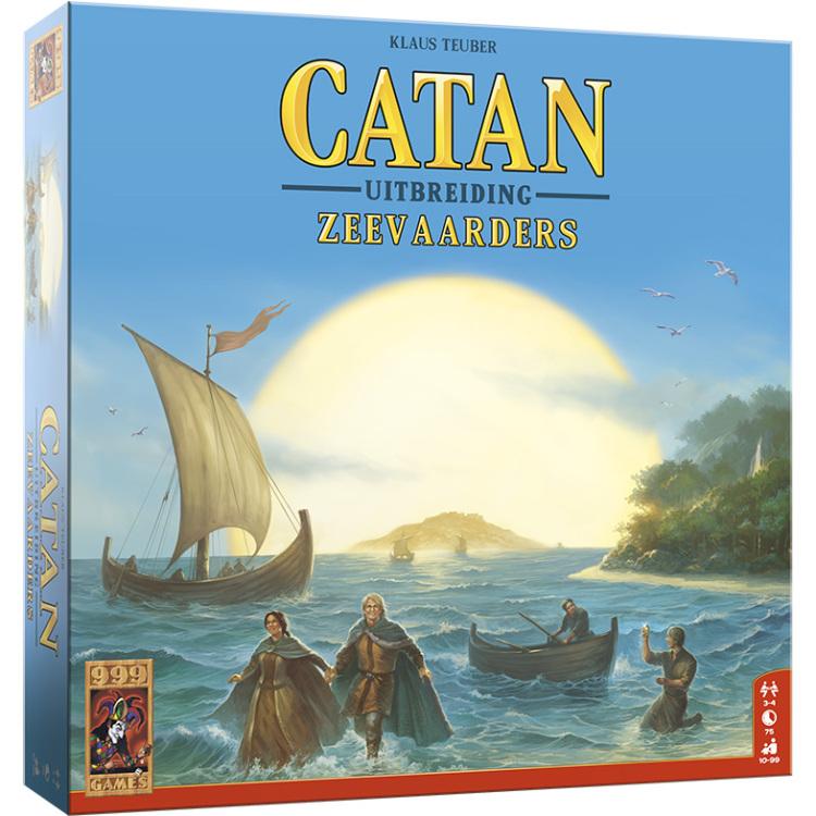 999 Games Catan: De Zeevaarders uitbreiding