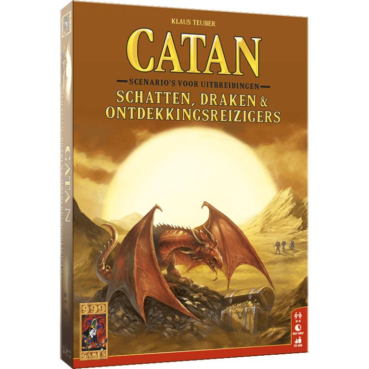 999 Games Catan: Schatten, Draken & Ontdekkingsreizigers uitbreiding
