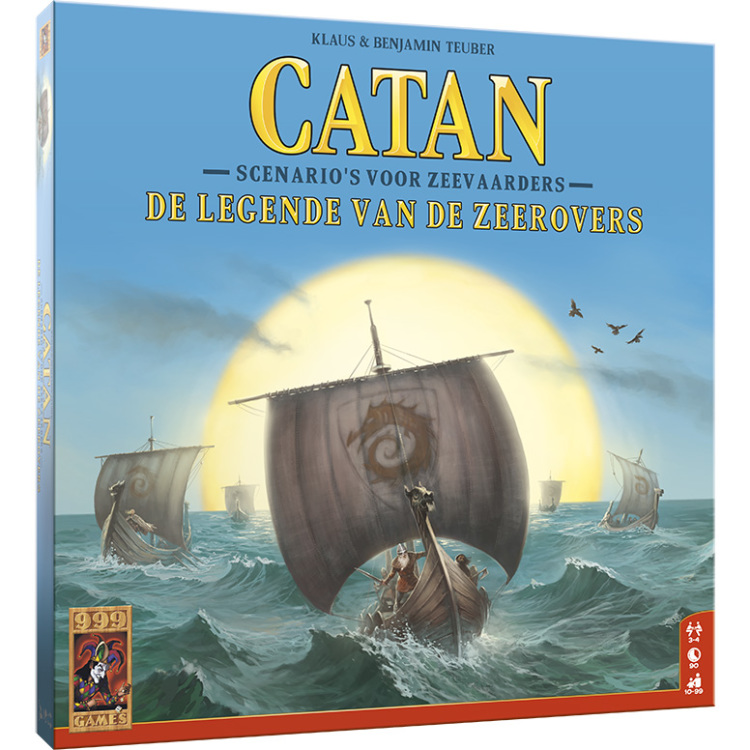 999 Games Catan: De Legende van de Zeerovers uitbreiding