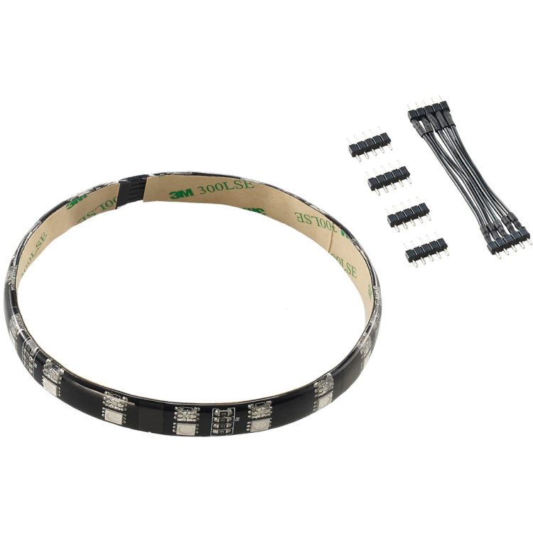 Productafbeelding voor 'WideBeam Hybrid LED Strip 30cm - RGB/UV'