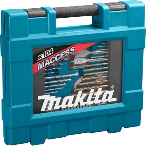 Makita 104 delige boor--bitset