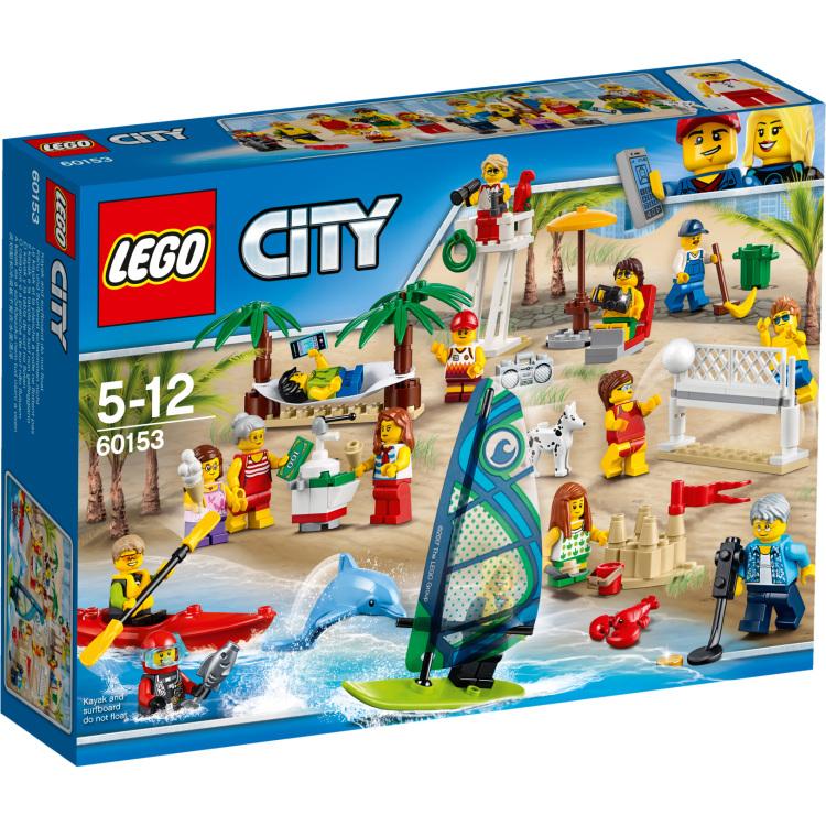 LEGO Plezier in het strand City personenset (60153)