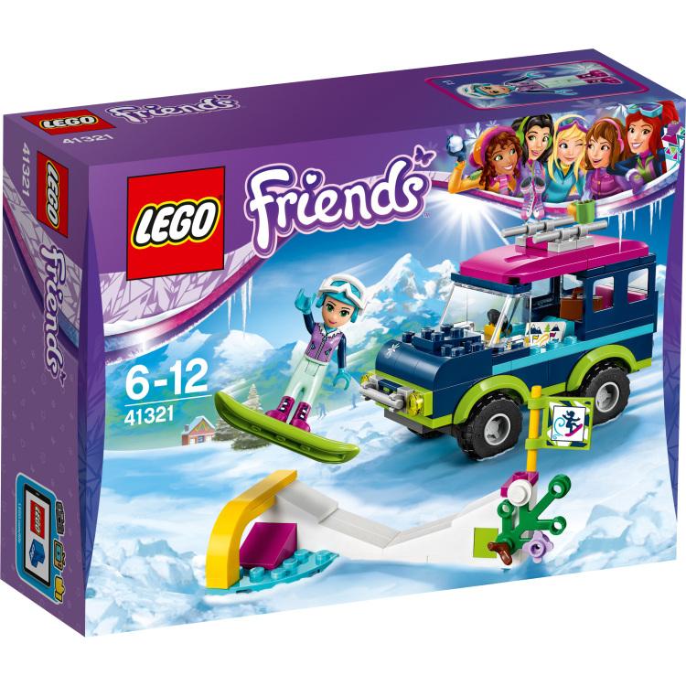 LEGO Wintersport terreinwagen (41321)