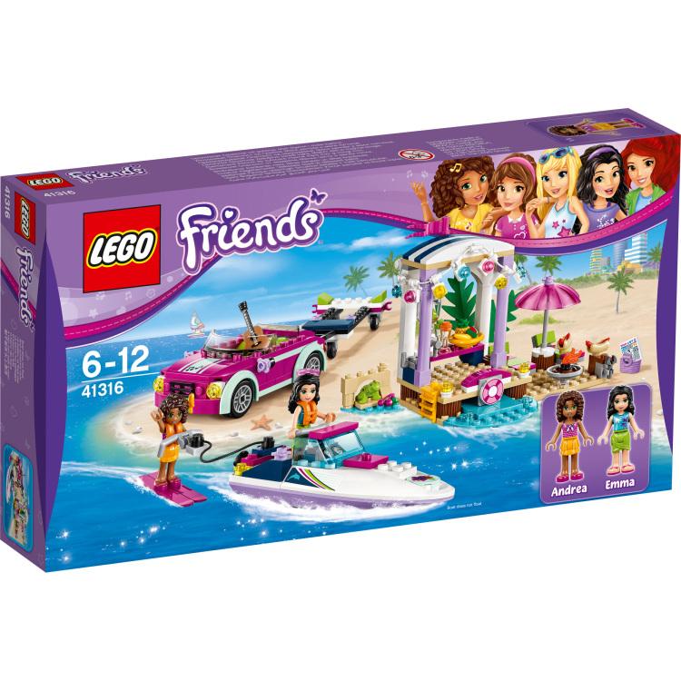 LEGO Friends Andrea's speedboottransport