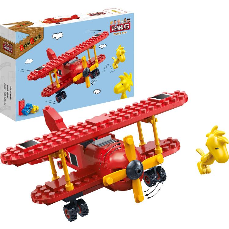 Snoopy - Snoopy Rode Vliegtuig