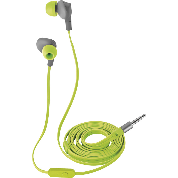 Aurus Waterproof In-ear Headphones - Lime Green