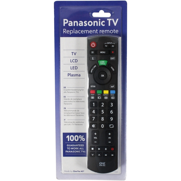 One For All Panasonic Replacement Remote Afstandsbediening URC1914
