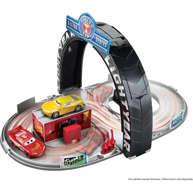 Disney Pixar Cars 3 Piston Cup Portable Playset
