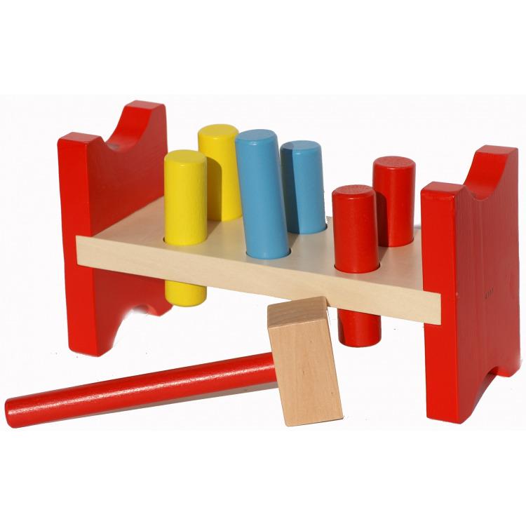 Simply for kids houten hamerbankje