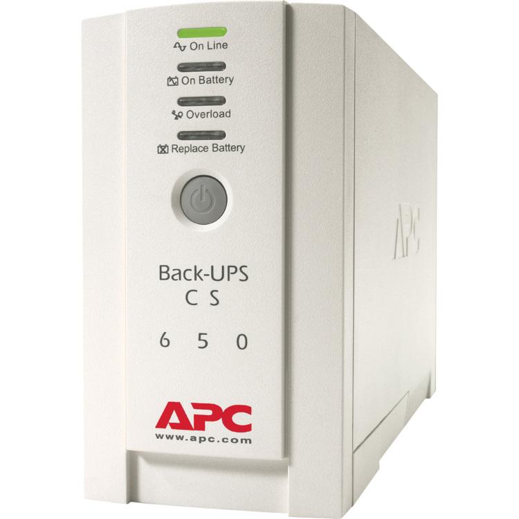 APC BK650EI Back UPS CS 650VA 400W Input 230V Output 230V Interface Port DB-9 RS-232 USB