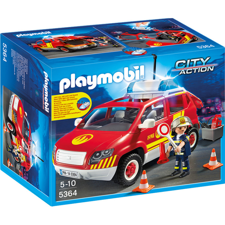Playmobil City Action Brandweercommandant 5364