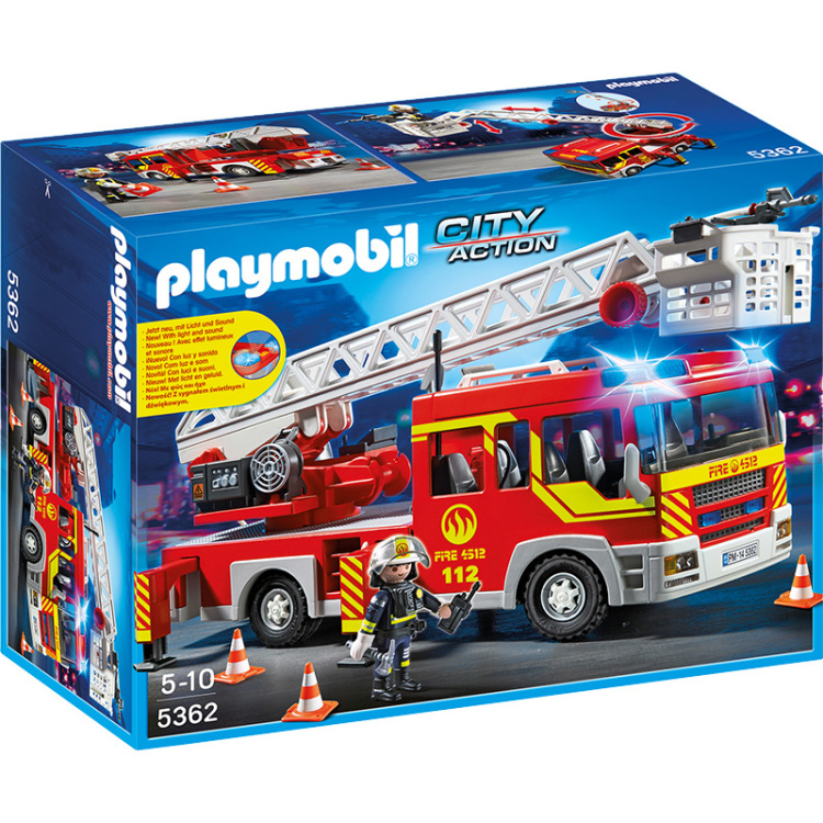Playmobil City Action Brandweer Ladderwagen 5362