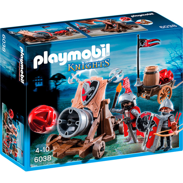 Playmobil Knights Groot Kanon 6038