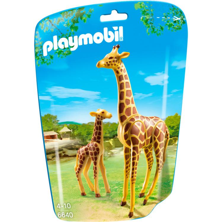 Playmobil City Life Giraffe met jong 6640