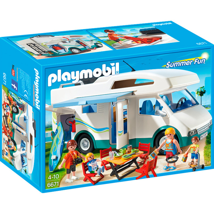 6671 Playmobil Grote Familie Camper