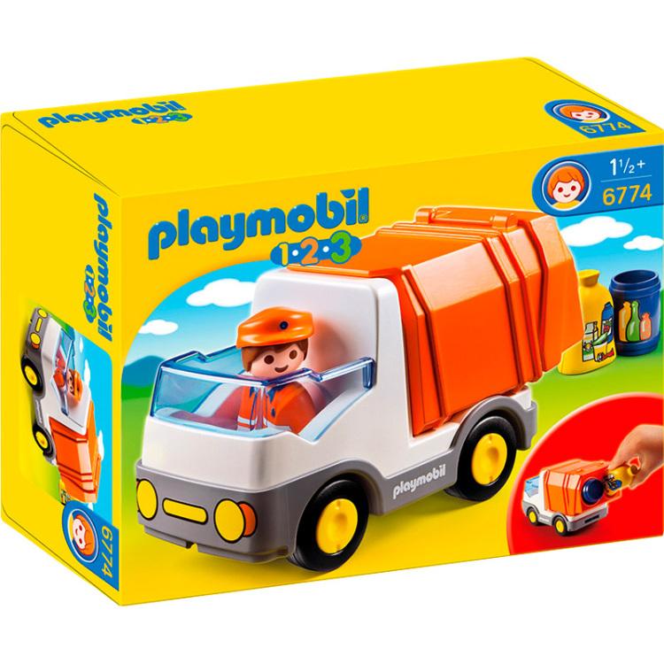 Playmobil vuilniswagen 6774