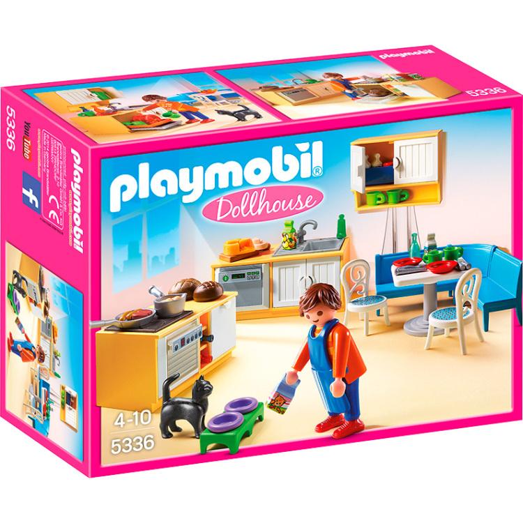 Playmobil Dollhouse Keuken met zithoek 5336