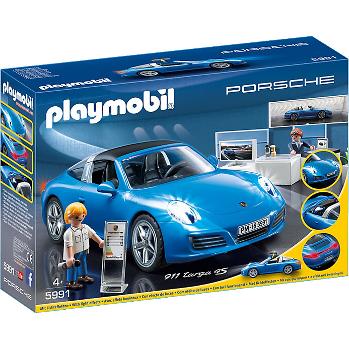 Porsche 911 Targa 4S Playmobil (24405)