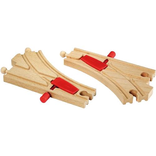 Brio houten wissels met switch
