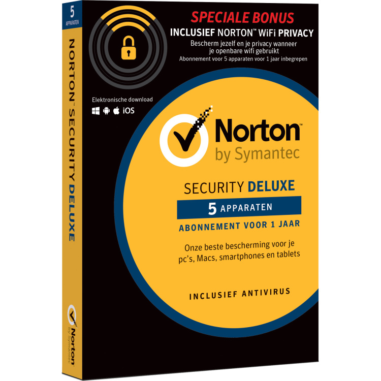 Security Deluxe + WiFi Privacy Software>Software Norton kopen? Lees eerst dit.