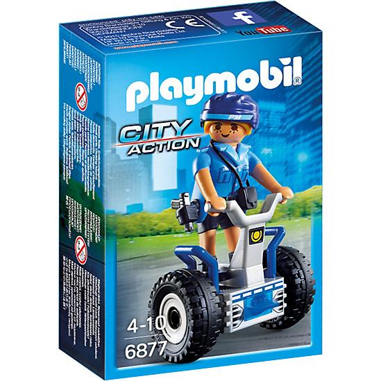 PLAYMOBIL City Action politieagente met balansracer