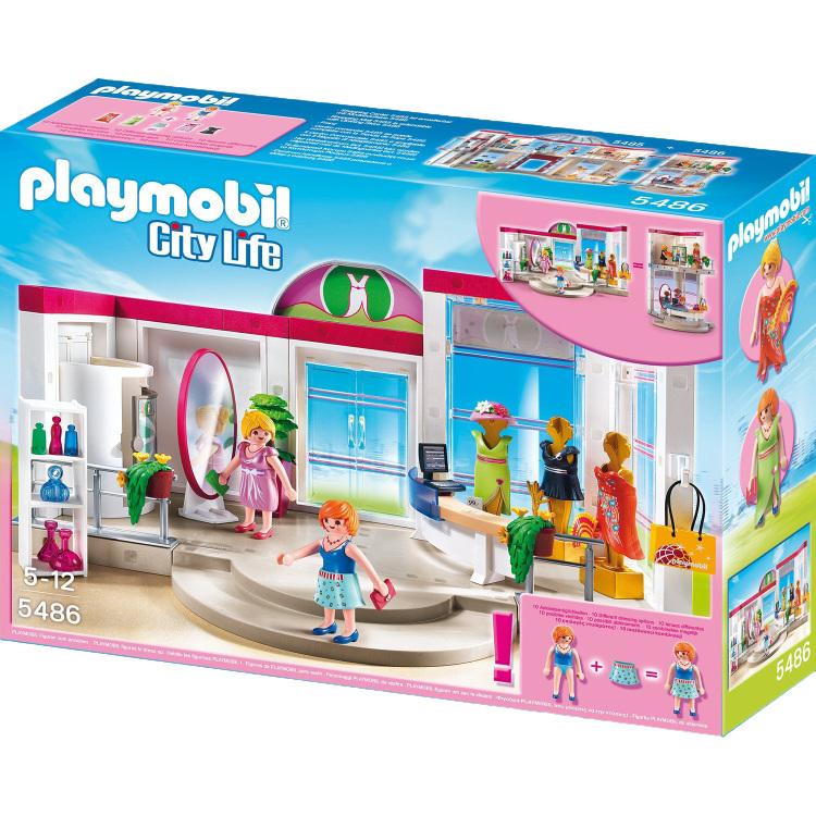 Playmobil Kledingwinkel 5486