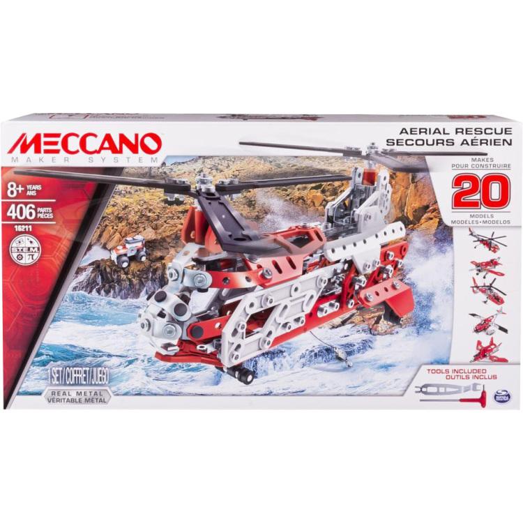 Meccano Helikopter 20 Model Set