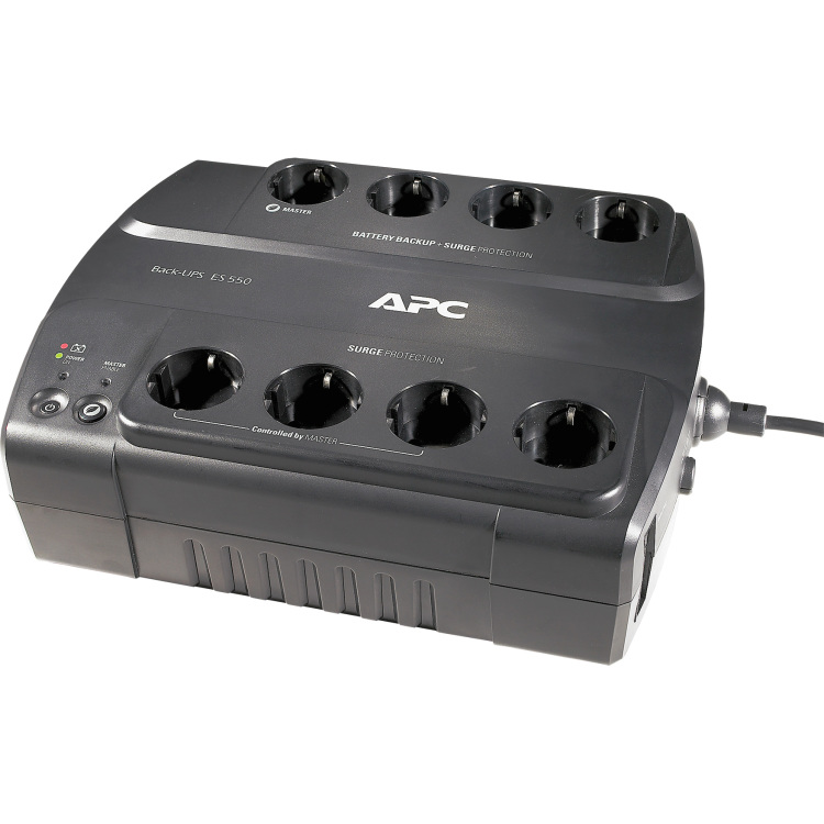 APC APC Power-Saving Back-UPS ES 8 Outlet 550VA 230V CEE 7-7 (BE550G-GR)