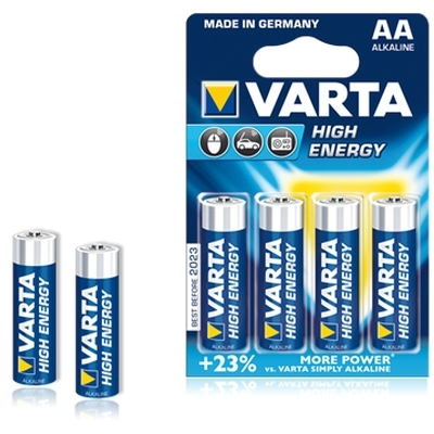 Varta LongLife Power AA (LR6) batterijen 4 stuks