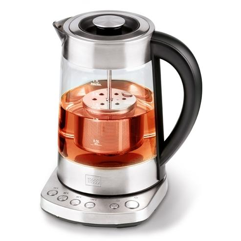 Trebs waterkoker theekan met temperatuurinstelling