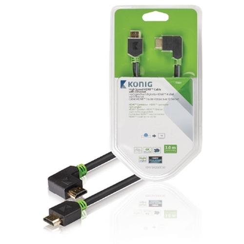 High Speed HDMI kabel met Ethernet HDMI connector HDMI connector rec (KNV34260E30)