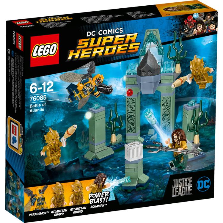 Dc Comics Super Heroes - Slag Om Atlantis