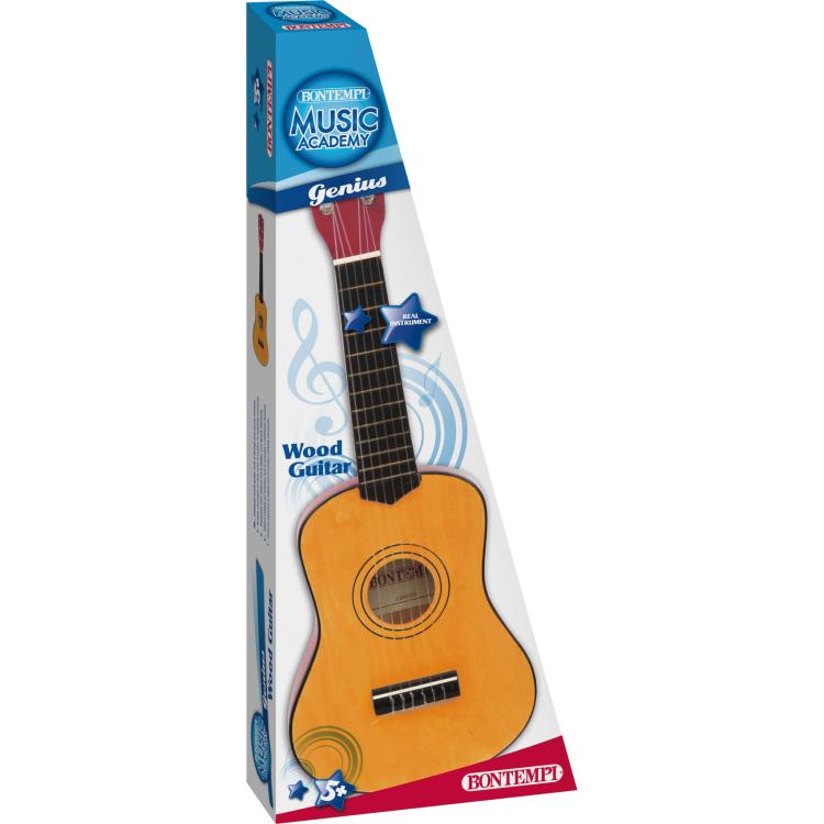 Wooden Guitar 55 Cm.