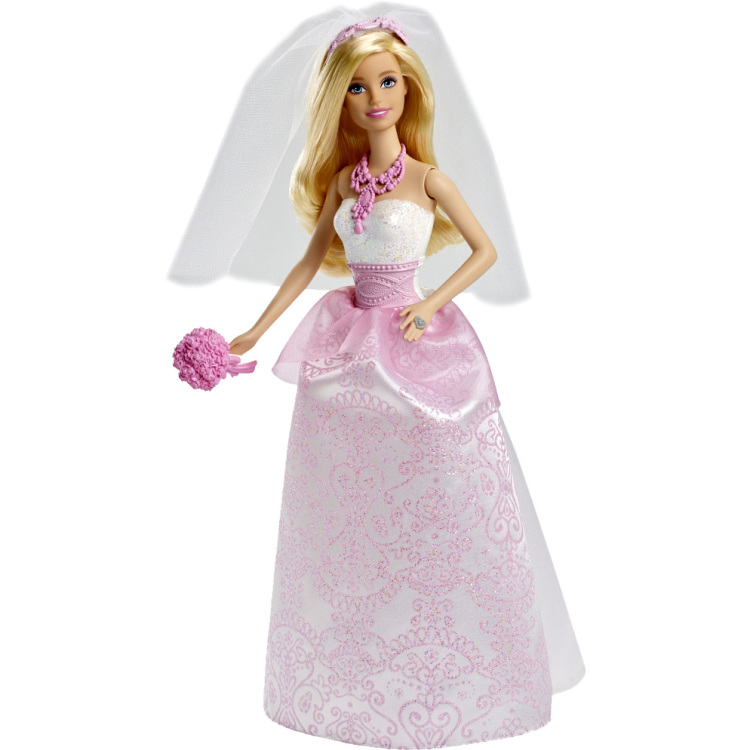 Barbie bruidspop