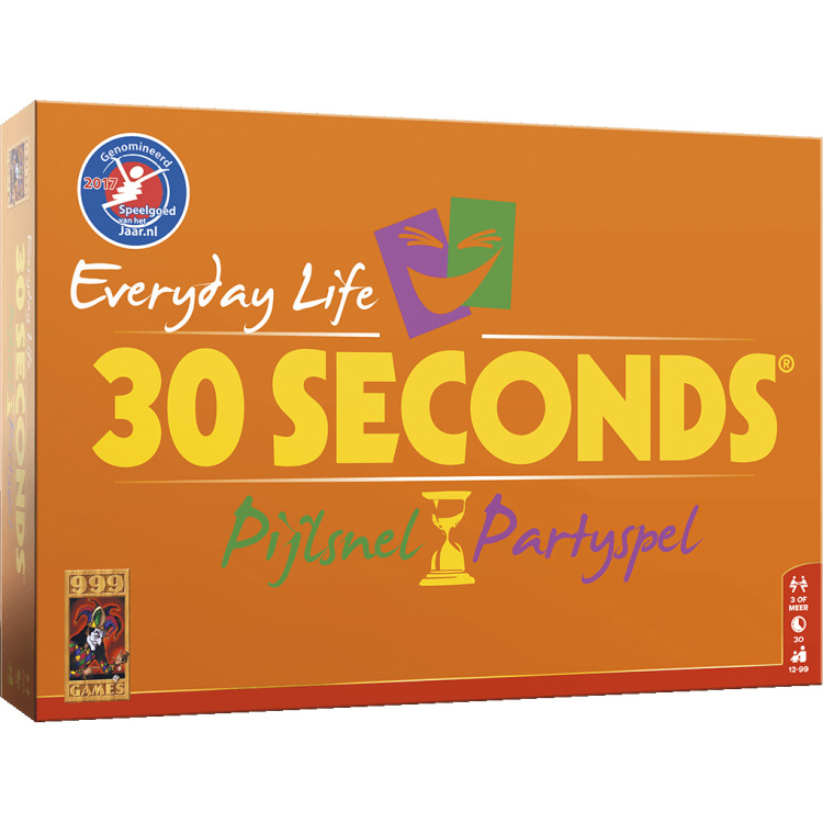 30 Seconds Everyday Life bordspel