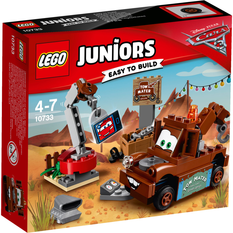 10733 Lego Juniors Cars 3 Takels Sloopterrein
