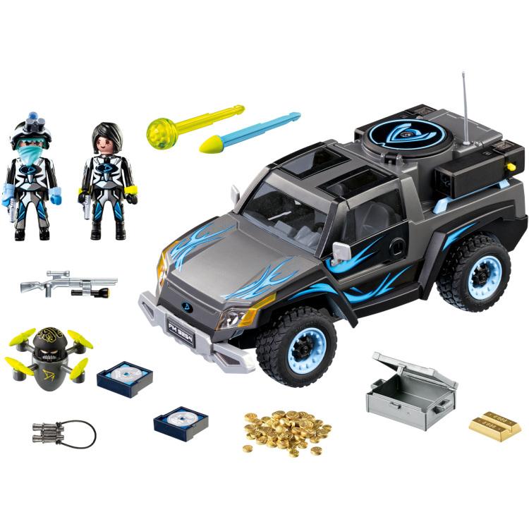 Playmobil City Action 9254 Zwart speelgoedfiguur kinderen