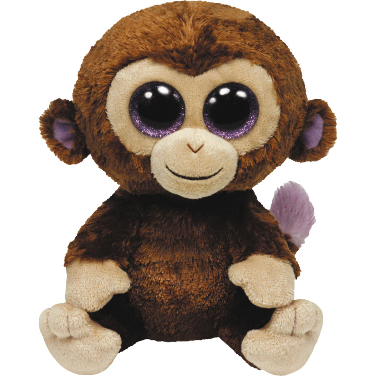 TY Beanie Boo Coconut Aap Knuffel 40cm