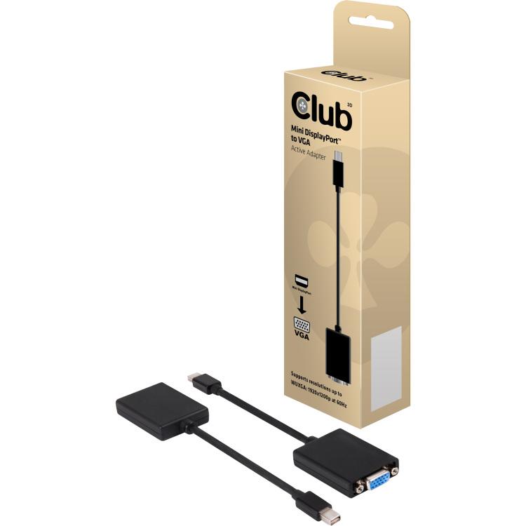 Club 3D Mini DisplayPort naar VGA