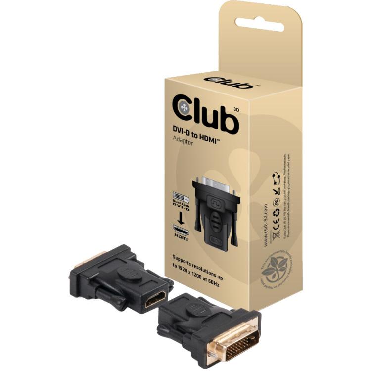 CLUB3D DVI to HDMI Adapter