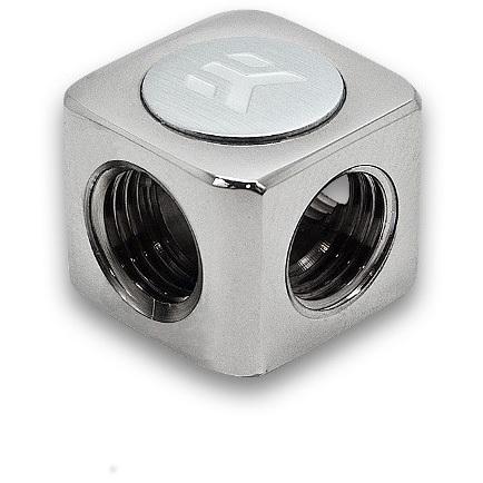 Productafbeelding voor 'EK-AF T-Splitter 3F G1/4 - Nickel'
